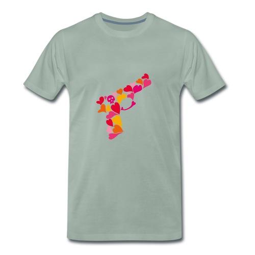 Lovegun - Premium-T-shirt herr