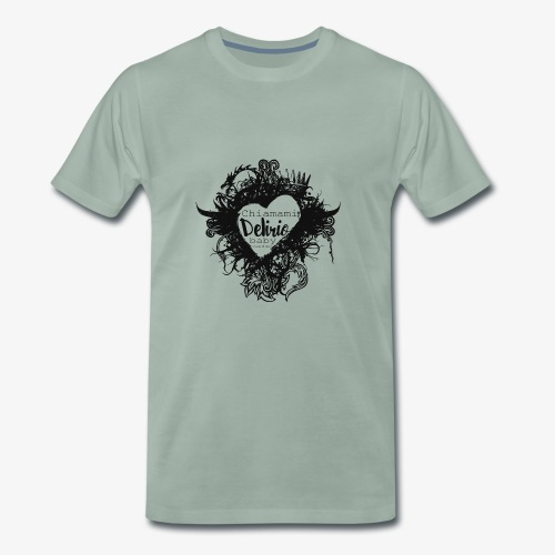 Cuore di neve - Maglietta Premium da uomo