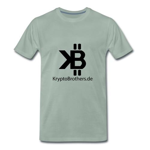 KryptoBrothers Black - Männer Premium T-Shirt