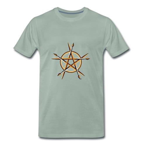 PAGAN PAINTER - Men's Premium T-Shirt