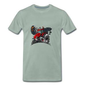 TRACTOR - Mannen Premium T-shirt