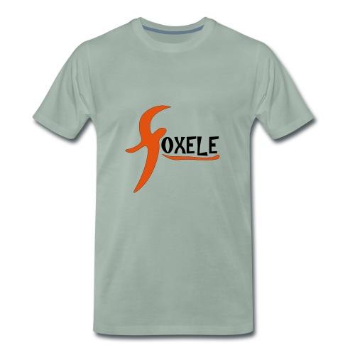foxele orange - Men's Premium T-Shirt