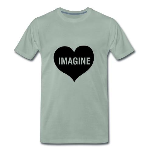 IMAGINE LOVE - Männer Premium T-Shirt