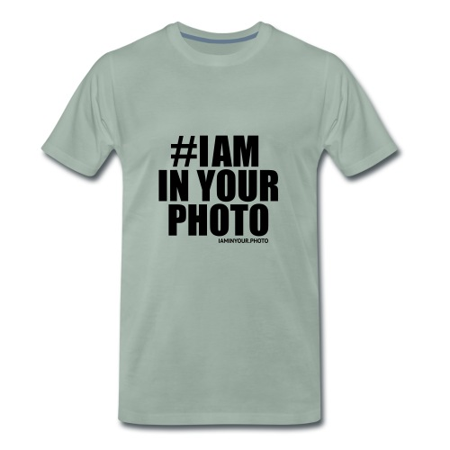 I AM IN YOUR PHOTO Sweater Women - Mannen Premium T-shirt