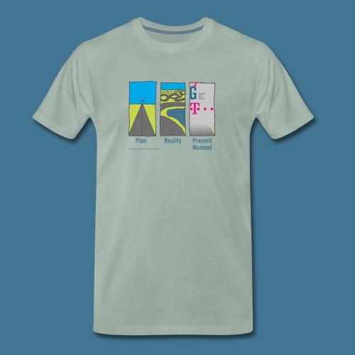 Wege telekom - Männer Premium T-Shirt