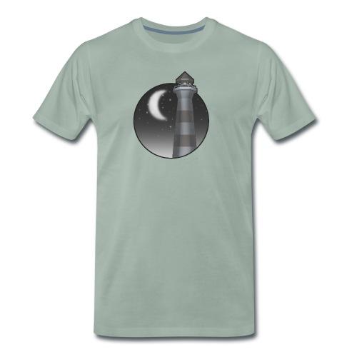 fyr i natten - Premium-T-shirt herr