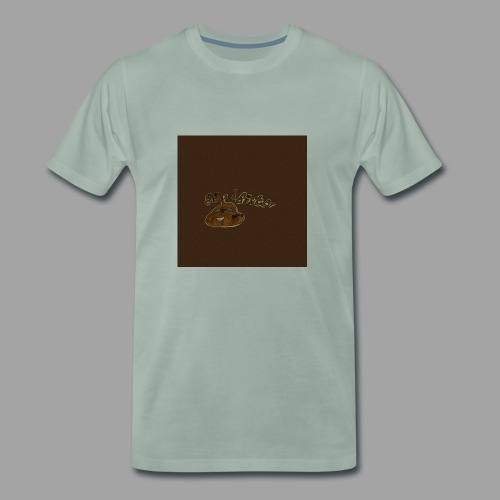 Günni Günter Desing Brown Background- - Männer Premium T-Shirt