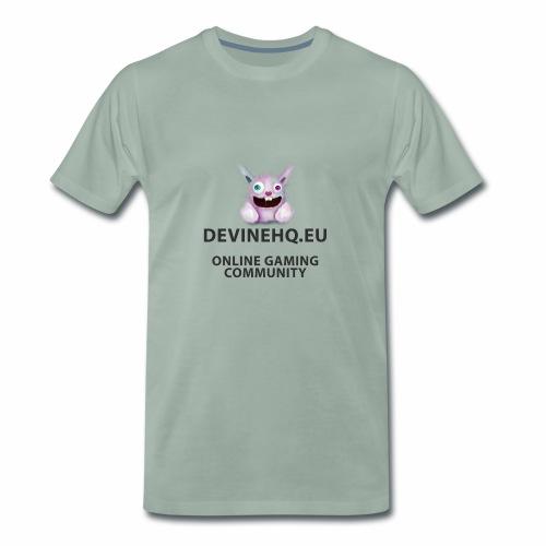 Our crazy gaming logo - Mannen Premium T-shirt