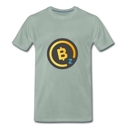 Dark BitcoinZ Logo - Men's Premium T-Shirt
