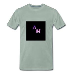 logo de t shirt v noir - T-shirt Premium Homme