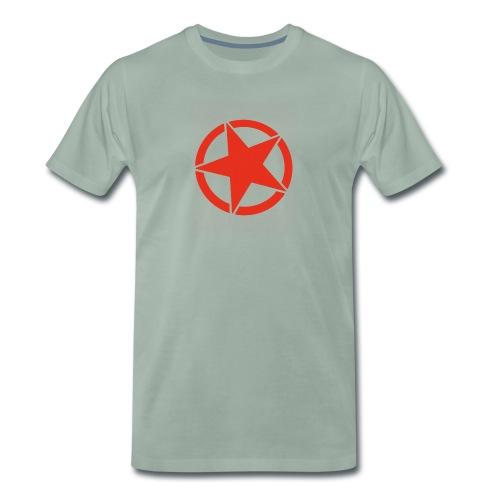 Roter Stern. Die moderne Form der Revolution. - Männer Premium T-Shirt