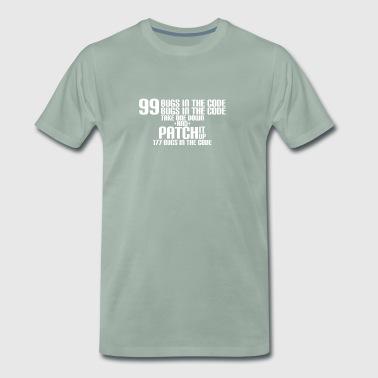 TECHNOLOGIA INFORMACYJNA - IT - BŁĘDY - CODE - BŁĄD - Student - Koszulka męska Premium
