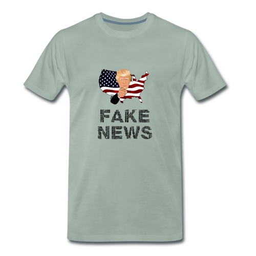 Trump Fake news - Männer Premium T-Shirt