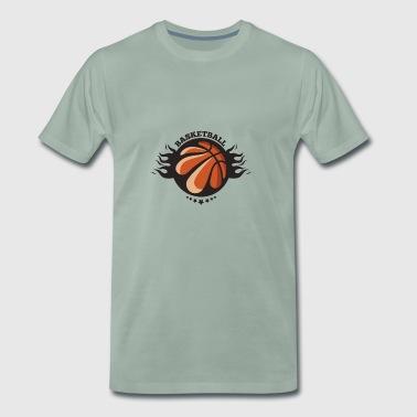 Basketball vinnere klubb - Premium T-skjorte for menn