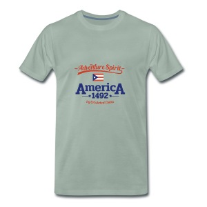 Adventure Spirit America 1492 - Männer Premium T-Shirt