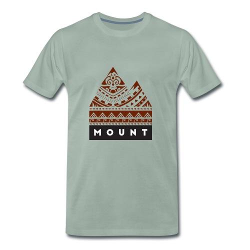 Mountains of the Heart by Te-Moana - Männer Premium T-Shirt