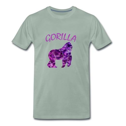 Purpel Gorila - Männer Premium T-Shirt