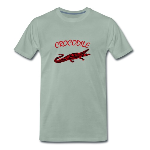 Red Crocodile - Männer Premium T-Shirt
