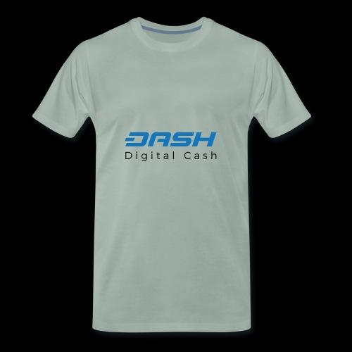 Dash Coin Logo 2 - Maglietta Premium da uomo