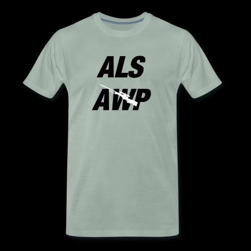 Als AWP - Männer Premium T-Shirt