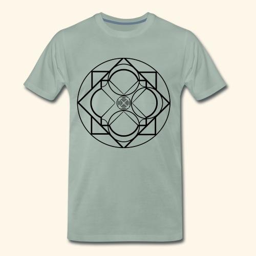 Art 2 Trapped Freedom - Mannen Premium T-shirt