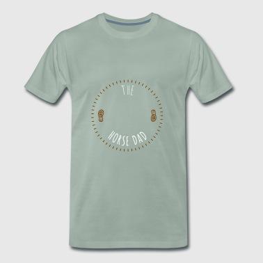 den horsedad - Premium T-skjorte for menn