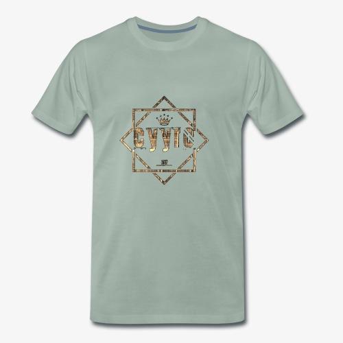 Cyyro Official Logo GOLD - Männer Premium T-Shirt