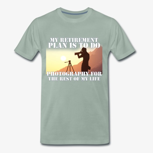 Retired Photographer - Men's Premium T-Shirt