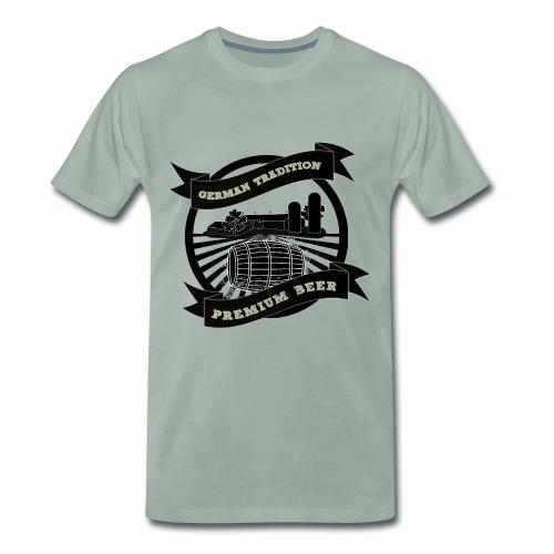 German Tradition Premium Beer 2 - Männer Premium T-Shirt