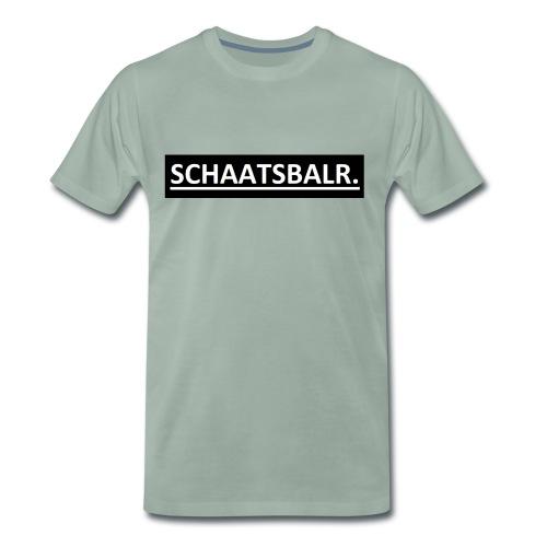 Schaatsbalr. - Mannen Premium T-shirt