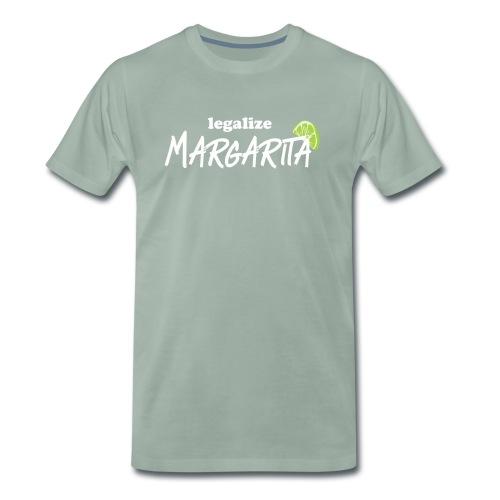 Legalisiert Margarita! Witziges Cocktail-Design. - Männer Premium T-Shirt