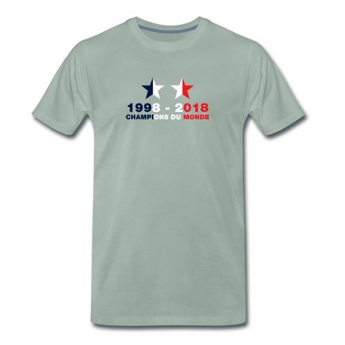 France - Champions du monde - 1998-2018 - T-shirt Premium Homme