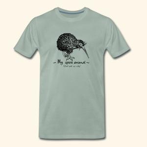 Le kiwi est mon animal totem. - T-shirt Premium Homme