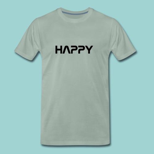 Happy - Männer Premium T-Shirt