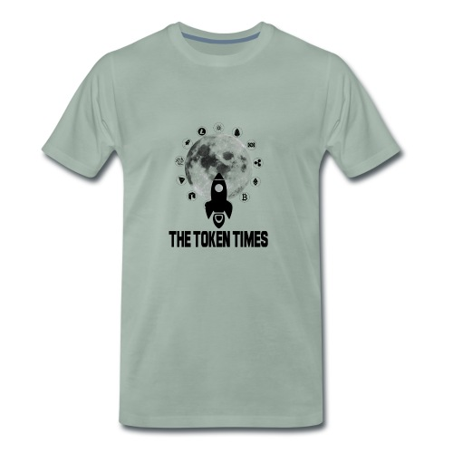 Token Times Logo 1 - Men's Premium T-Shirt