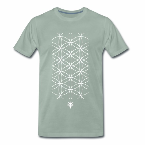 Muster Alien - Männer Premium T-Shirt