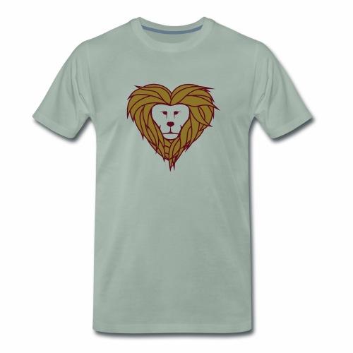 Lior heart - Mannen Premium T-shirt