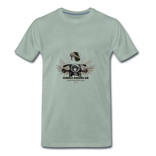 Female Riders logo 2 - Men's Premium T-Shirt