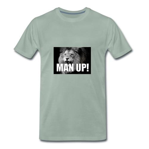 Man up - Premium T-skjorte for menn