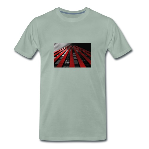 building-1590596_960_720 - Männer Premium T-Shirt
