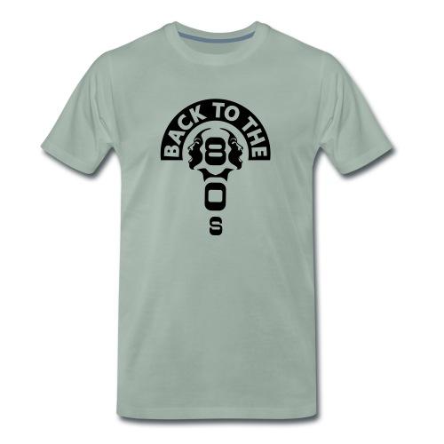 80s ✫ Back to the 80's - Männer Premium T-Shirt