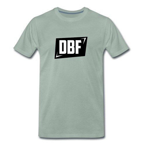 DBF Logo Text - Men's Premium T-Shirt