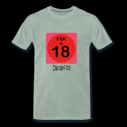 FSK 18 - Männer Premium T-Shirt