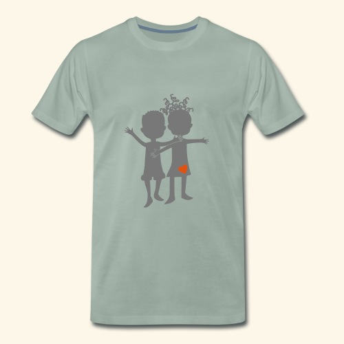Logo Zweifarbig - Männer Premium T-Shirt