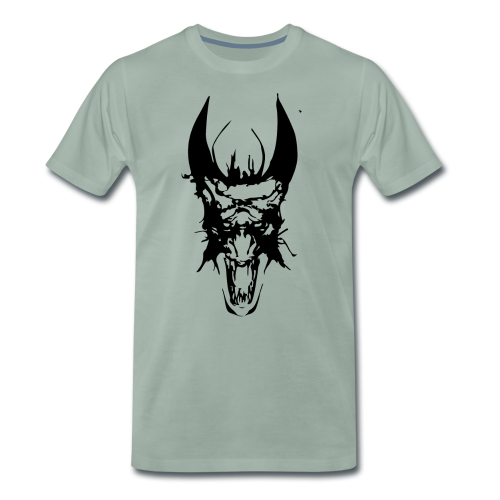 Dragon Head - Men's Premium T-Shirt