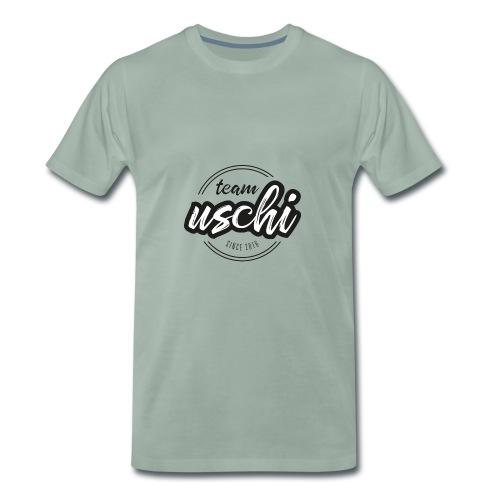 Team Uschi Schwarz original - Männer Premium T-Shirt