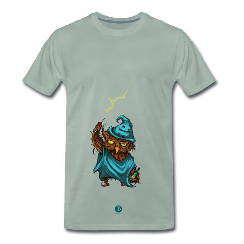 Drunken Owl - Men's Premium T-Shirt