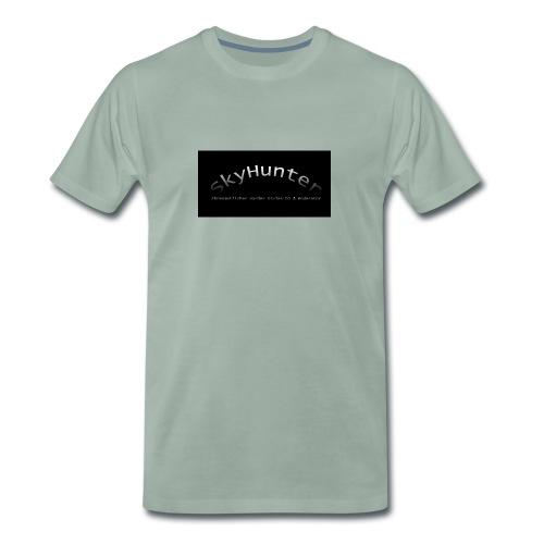 SkyHunter Logo Black - Männer Premium T-Shirt