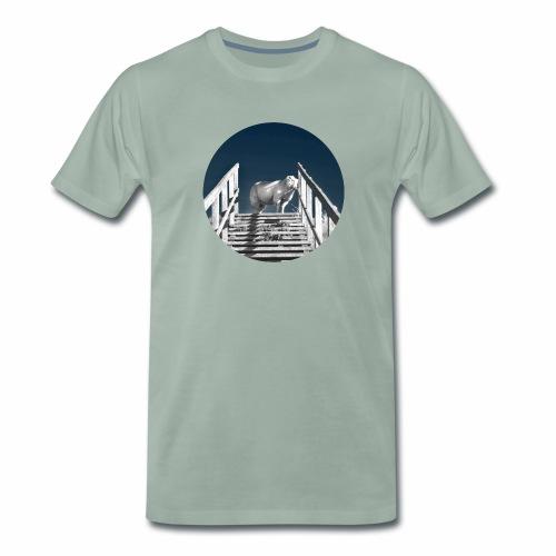 Schaf Lucy - Männer Premium T-Shirt