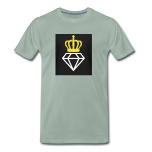 Diamantenkrone - Männer Premium T-Shirt